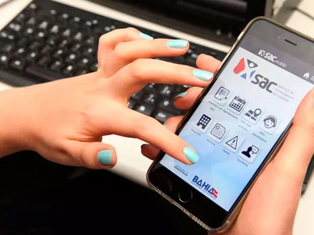 Usuários podem agendar atendimento e ter acesso a outros serviços pelo aplicativo (Foto: Divulgação)