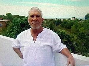 Familiares de Sílvio Sampaio divulgaram a foto dele (Foto: Reprodução/TV Gazeta)