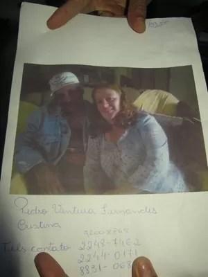 Pedro Fernandes, Cristina e dois filhos do casal morreram (Foto: Isabela Marinho/G1)
