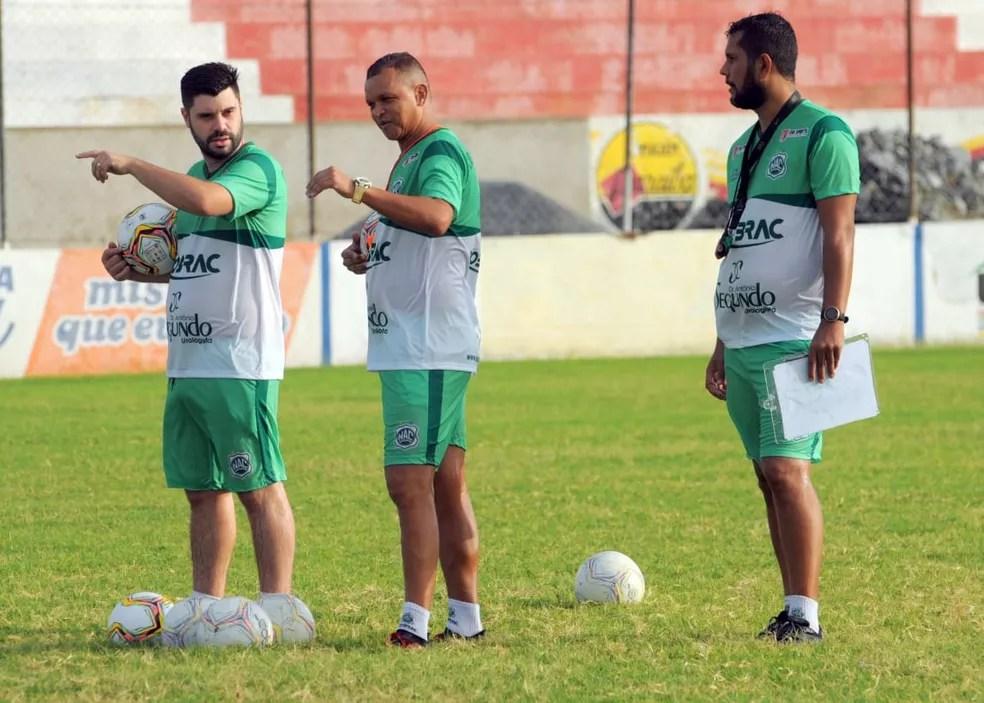 Warley Santos fará sua estreia como técnico no Campeonato Paraibano 2021, comandando o Nacional de Patos — Foto: Joab Medeiros / Nacional de Patos