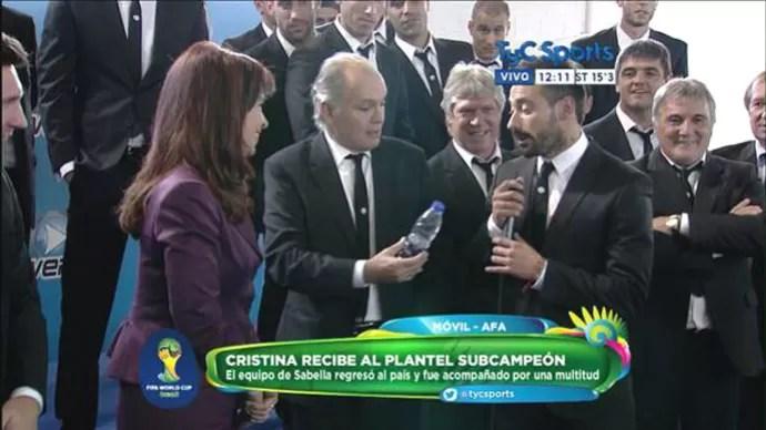 Cristina Kirchner argentina (Foto: Reprodução / Twitter)