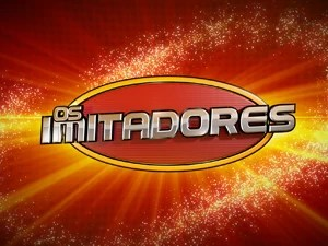 Logo Os Imitadores (Foto: Domingão do Faustão/TV Globo)
