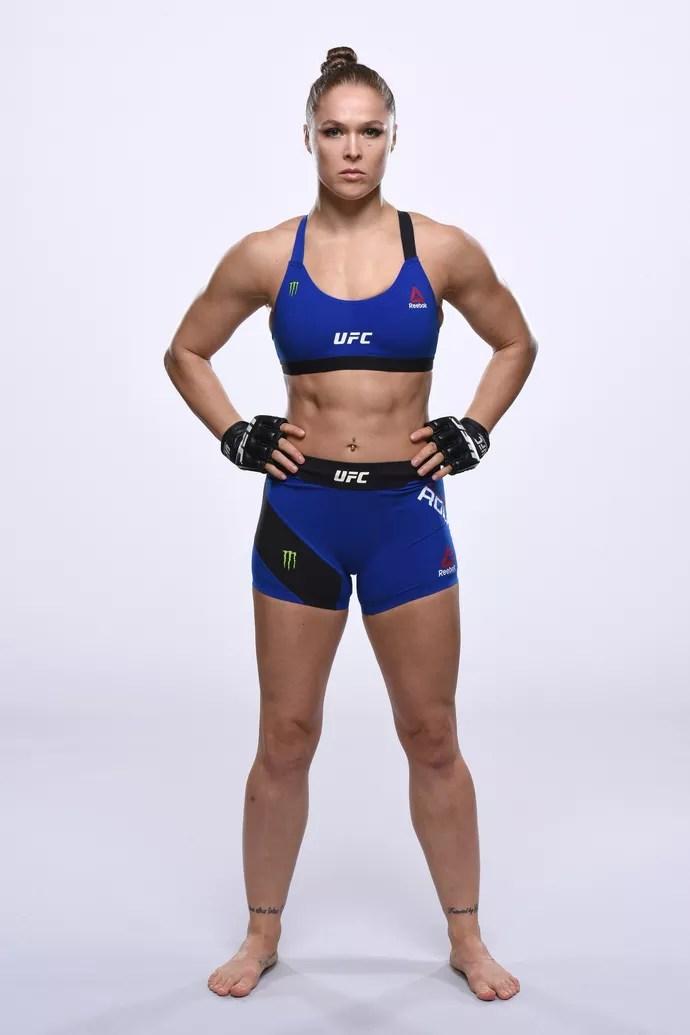 Ronda Rousey uniforme UFC 207 (Foto: Getty Images)