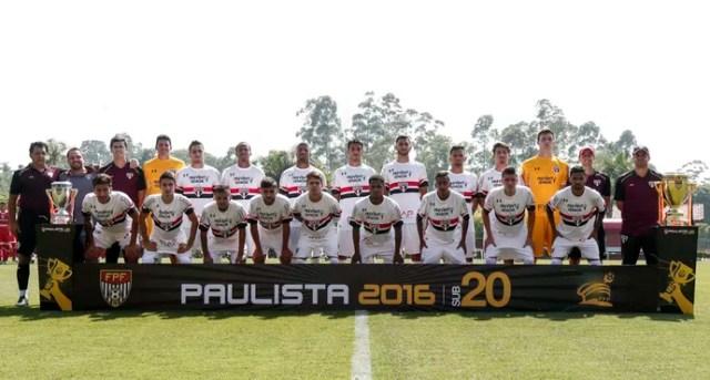 São Paulo sub-20 (Foto: Miguel Schincariol / site oficial do São Paulo FC)