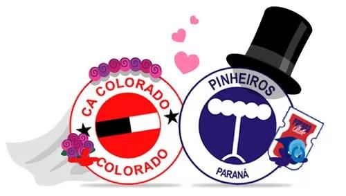 CLUBES ITINERANTES COLORADO - PINHEIROS - PARANÁ CLUBE (Foto: infoesporte / Cláudio Roberto)
