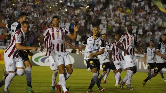 botafogo pb x nautico paulo cavalcanti 09.05.19 04 - FINALISTA DA COPA DO NORDESTE: Botafogo vence Náutico em jogo no Almeidão