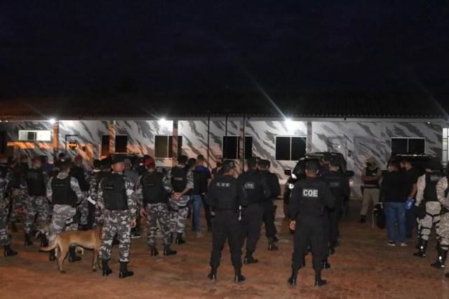 Mais de 100 policiais reforçam operação no Acre  — Foto: Asscom/MP-AC