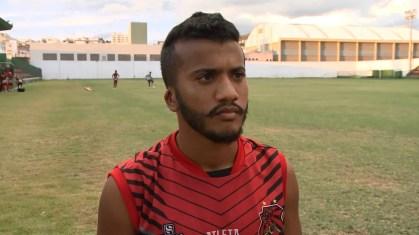 Jefferson Maranhão disse que o Fla quer surpreender — Foto: TV Asa Branca / Reprodução