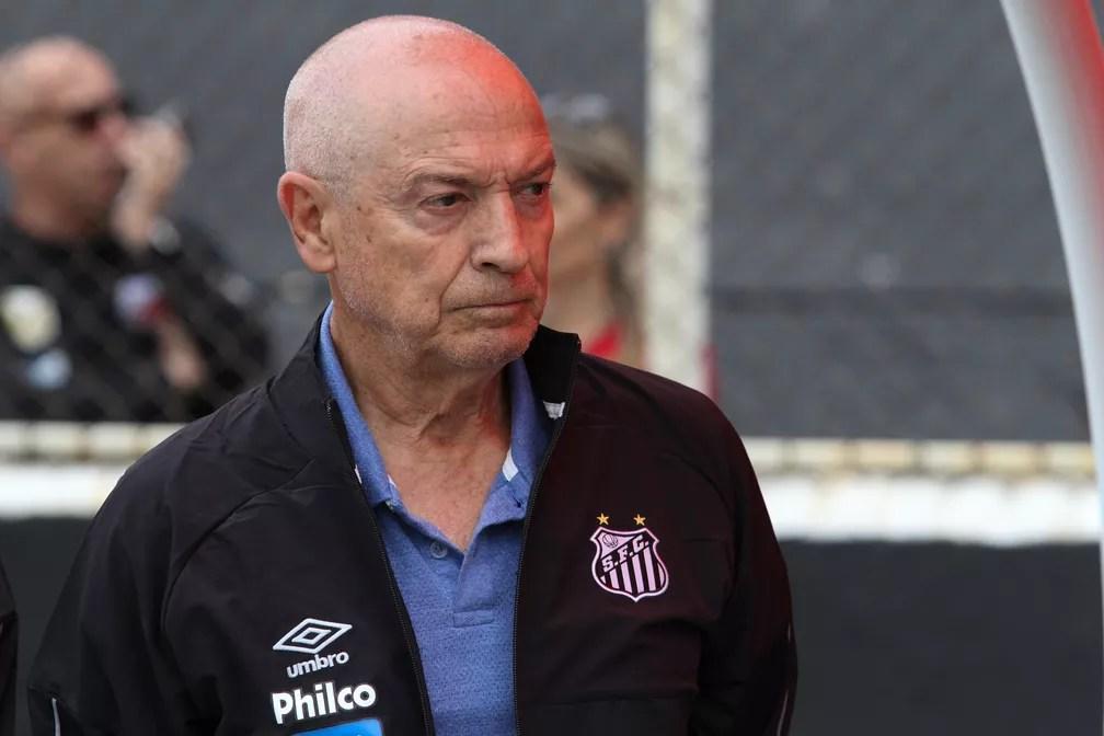 Jesualdo Ferreira é demitido do Santos — Foto: LUCIANO CLAUDINO/CÓDIGO19/ESTADÃO CONTEÚDO