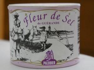 Flor de sal de Guerandé, na França, é a mais famosa do mundo (Foto: Flavio Flarys / G1)