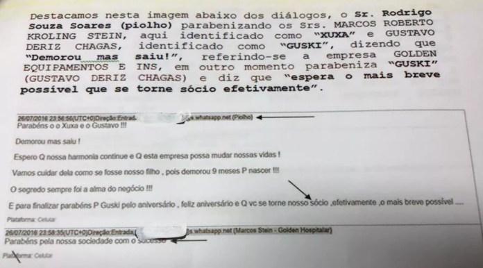 Trecho divulgado pelo Nuroc no Espírito Santo (Foto: Reprodução)