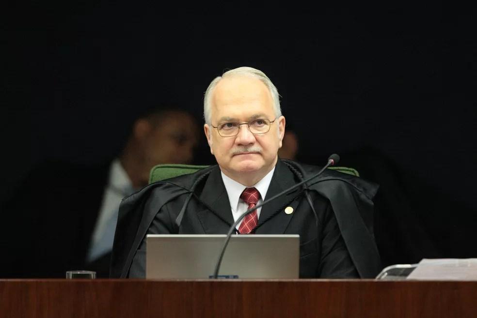 O ministro Edson fachin, relator da ação que questionava as greves de policiais civis (Foto: Carlos Moura / STF)