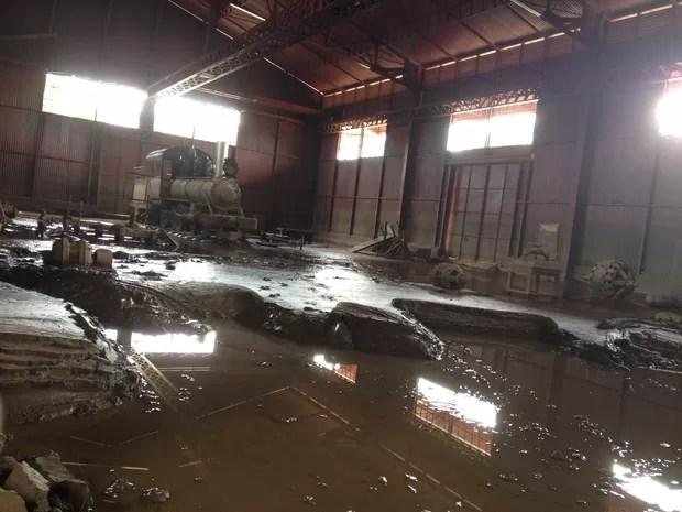 Exército inicia limpeza no Museu Histórico da Estrada de Ferro Madeira Mamoré (Foto: Gaia Quiquiô/G1)