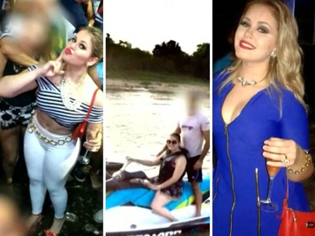 Prefeita de Bom Jardim (MA) ostentava boa vida nas redes sociais (Foto: Reprodução / TV Mirante)