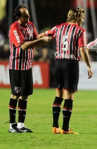 Rogério Ceni São Paulo lugano (Foto: Marcos Ribolli)