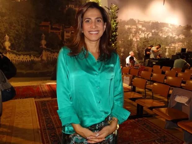 Totia Meireles fala sobre sua primeira vilã: 'Executiva perversa' (Foto: Salve Jorge / TV Globo)