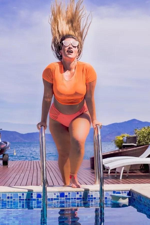 Fani Pacheco é modelo plus size (Foto: Reprodução)