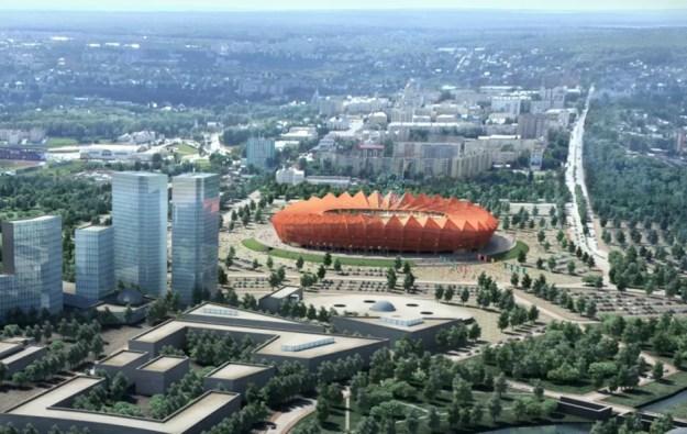 Resultado de imagem para estádios da copa 2018