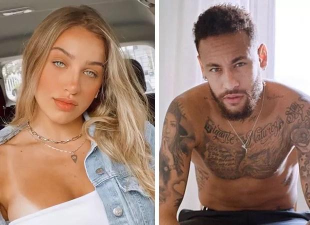 Tainá Casas e Neymar (Foto: Reprodução Instagram)