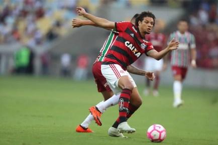 Willian Arão, do Flamengo, é alvo do São Paulo para 2019 — Foto: Gilvan de Souza / Flamengo