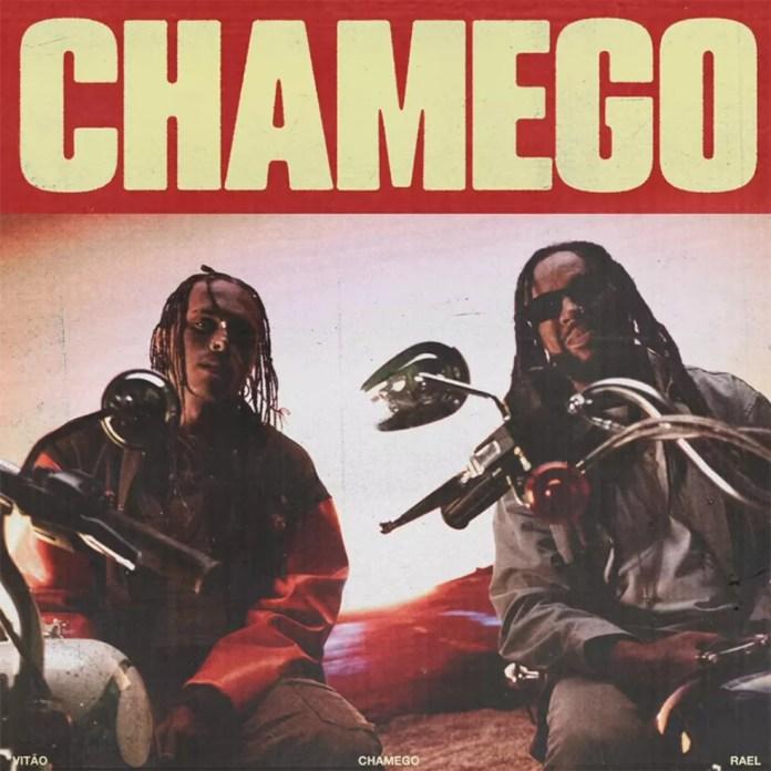 Capa do single 'Chamego', de Vitão com Rael — Foto: Divulgação