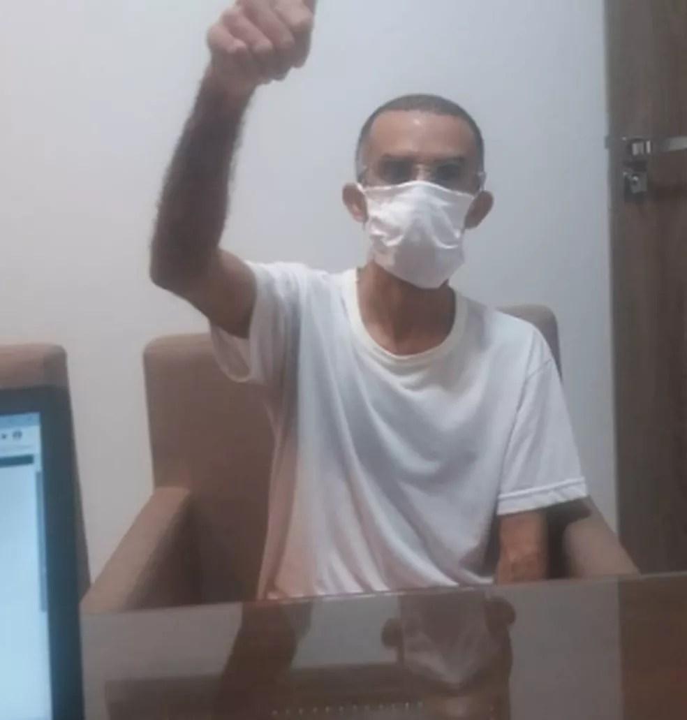 Jardineiro é libertado após passar 15 anos preso sem que houvesse processo contra ele, no Ceará — Foto: Arquivo pessoal