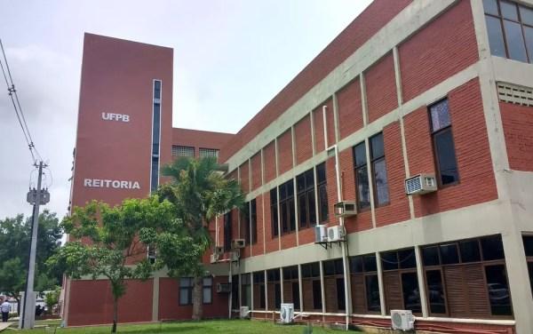 Reitoria da Universidade Federal da Paraíba (UFPB) (Foto: Krystine Carneiro/G1)