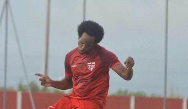 Magno Cruz foi relacionado para os jogos contra o Paraná e o Juventude — Foto: Gustavo Henrique/Ascom CRB