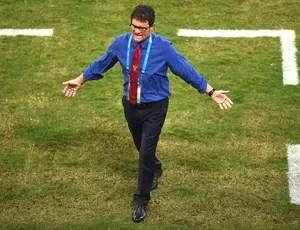 Fabio Capello no jogo Russia x Coreia (Foto: Getty Images)