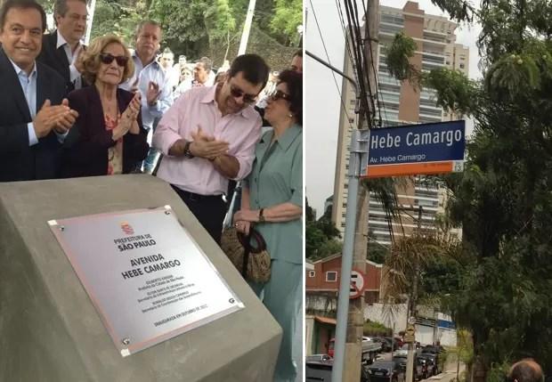 Hebe Camargo: nome de avenida de São Paulo (Foto: Reprodução)