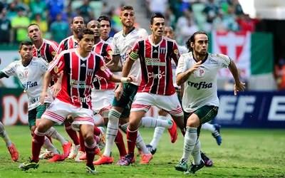 Valdivia e Dudu na Arena Palmeiras (Foto: Marcos Ribolli)