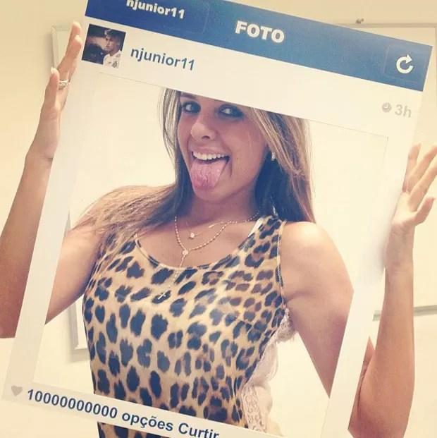Amiga de Neymar mostra detalhe da festa (Foto: Reprodução/Instagram)