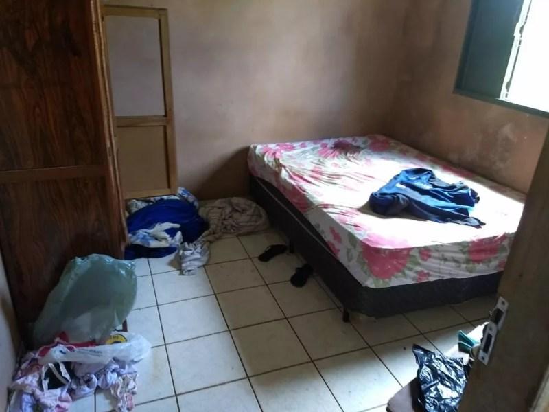 Local onde a jovem foi levada em estuprada em MS — Foto: Polícia Civil/Divulgação