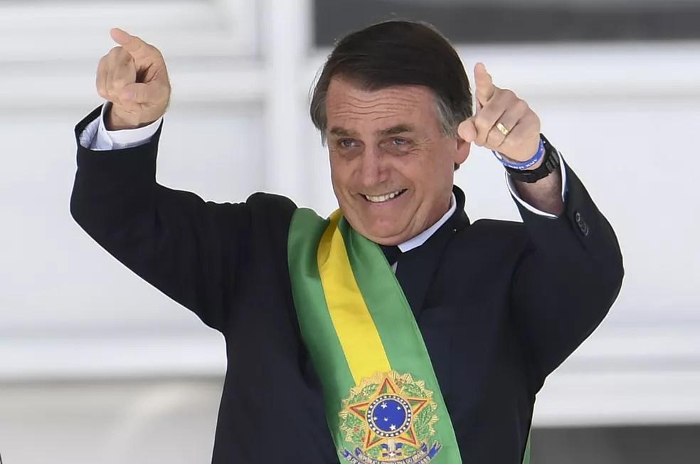 O presidente Jair Bolsonaro — Foto: Evaristo Sá/AFP