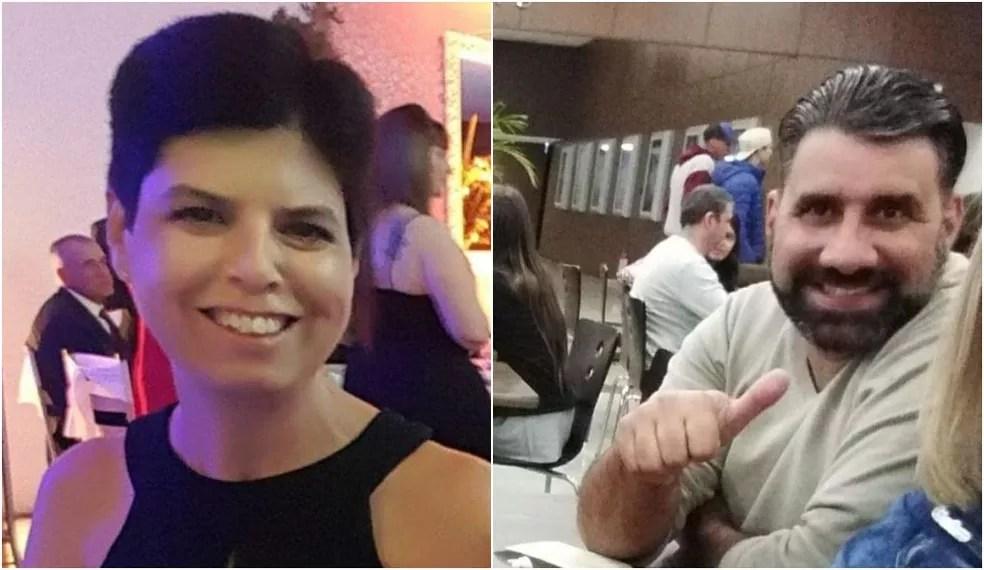 Elaine e Evandro estão desaparecidos desde a manhã de terça-feira (11) — Foto: Janete Silva/Arquivo Pessoal