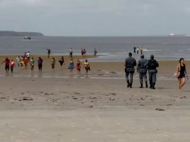 Ninguém ficou ferido no naufrágio desta sexta-feira (20), em São Luís (Foto: Douglas Pinto/TV Mirante)