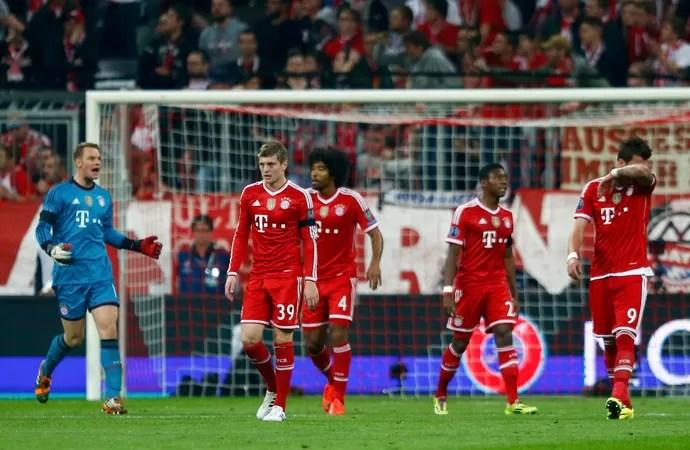 Bayern de Munique x Real Madrid (Foto: Reuters)