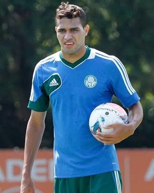 Alan Kardec treino Palmeiras (Foto: Reginaldo Castro/Agência Estado)