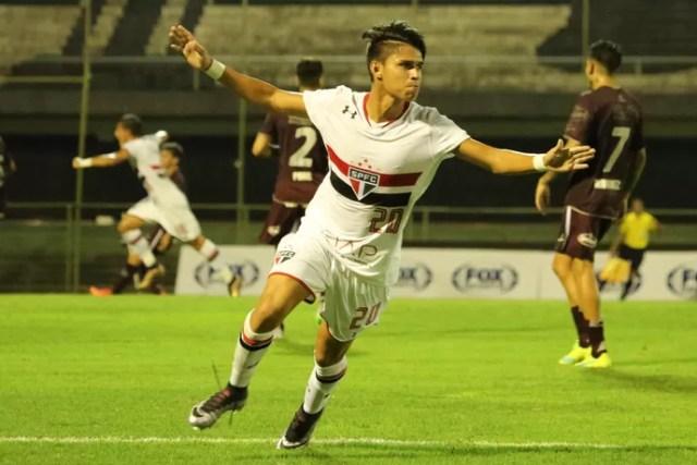São Paulo Luiz Araújo (Foto: Igor Amorim/saopaulofc.net)