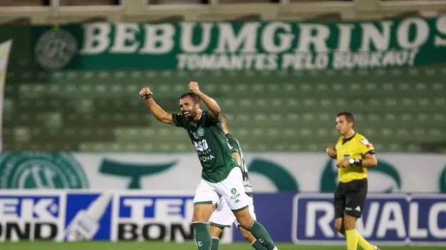 Ronaldo Alvez fez o gol da vitória do Bugre