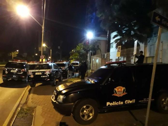 Dise faz operação contra o tráfico de drogas em Capivari e Rafard (Foto: Polícia Civil)