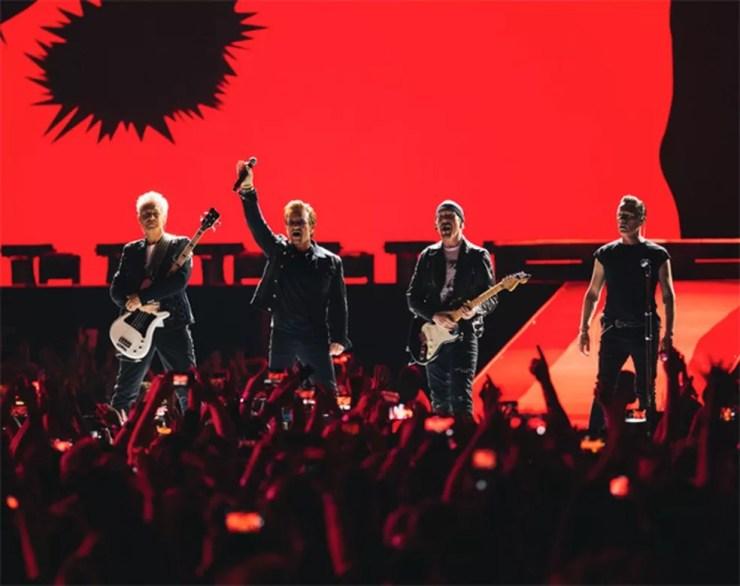 A banda U2 (Foto: Divulgação)