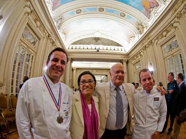 Os chefs franceses Frederic Monnier, David Mansaud e Phillippe Brye vão se reunir no evento gastronômico (Foto: A.Duarte/Divulgação)