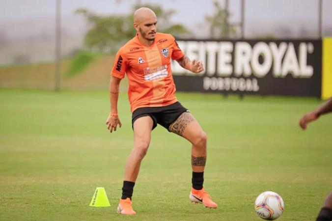 Fábio Santos, lateral-esquerdo, do Atlético-MG — Foto: Bruno Cantini/Atlético-MG