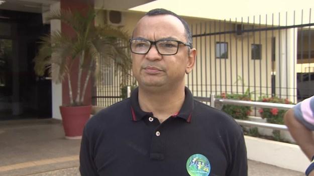 Coronel Charlon irá concorrer ao governo de Rondônia em chapa puro sangue pelo PRTB. (Foto: Pedro Bentes/G1)