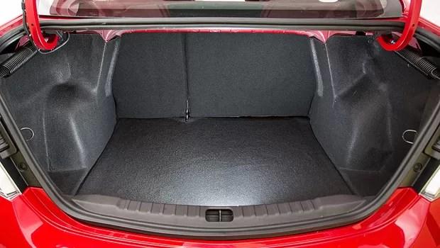 Chevrolet divulga porta-malas com capacidade para 500 l (Foto: Fabio Aro)