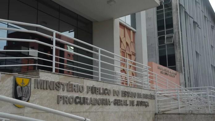 Ministério Público da Paraíba (MPPB) - Procuradoria-Geral de Justiça (Foto: Krystine Carneiro/G1)
