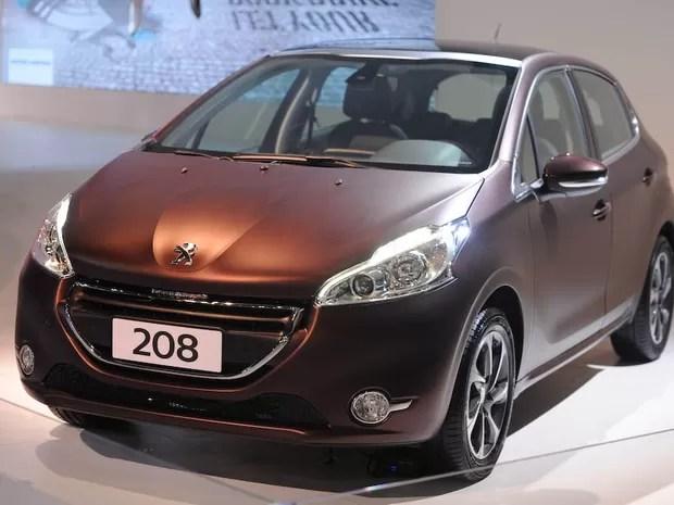 Peugeot 208 é apresentado no Salão de SP (Foto: Raul Zito/G1)
