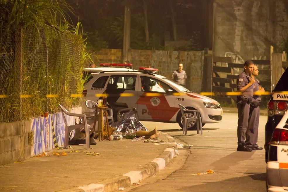 Seis pessoas morrem em chacina no Jaçanã, Zona Norte de São Paulo (Foto: Nivaldo Lima/Futura Press/Estadão Conteúdo)