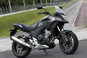 Honda CB 500X (Foto: Caio Mattos / Divulgação)